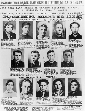 Kristna fångar i tidning