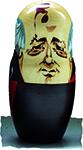 Rysk docka Gorbatjov