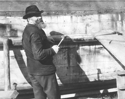 Höijer bygger båt