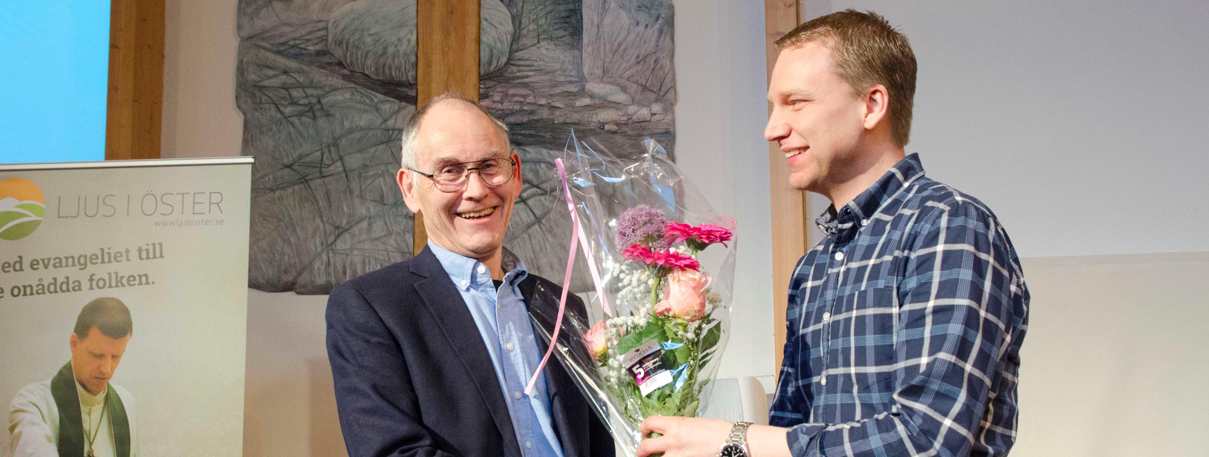 Nils-Erik Engström och Magnus Lindeman